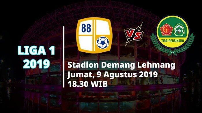 Prediksi Susunan Pemain Barito Putera vs Tira Persikabo Liga 1 2019,