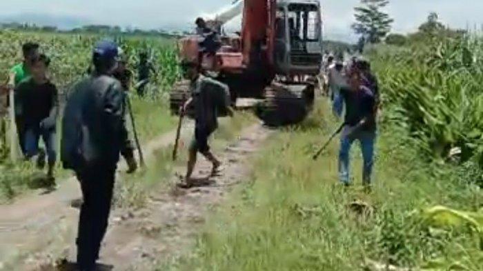 Preman Bayaran Mafia Tanah Sabet Kepala Pembuat Tapal Batas di Binjai Menggunakan Senjata Tajam
