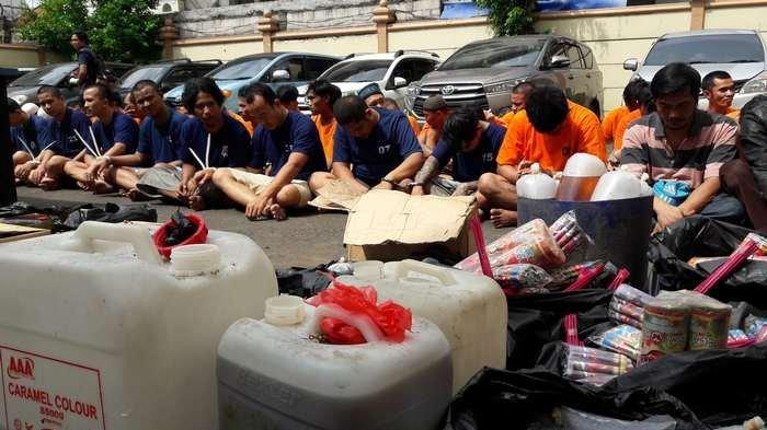Polisi Tangkap Ratusan Preman yang Biasa Beraksi di Jakarta Timur