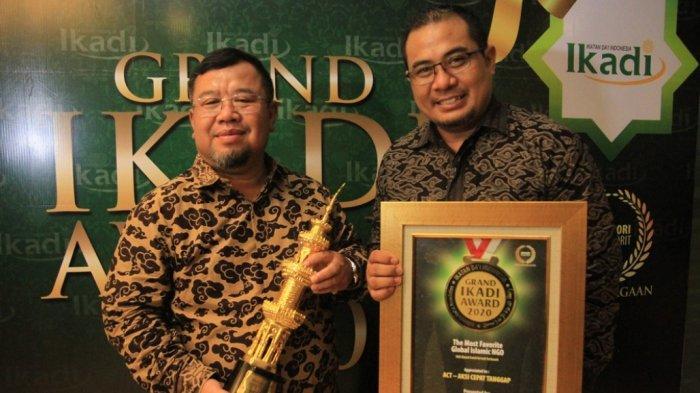 ACT Didapuk Sebagai NGO Terfavorit versi Ikatan Dai Indonesia