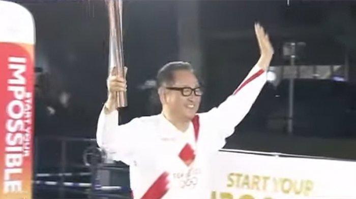 Bos Toyota Jepang Bahagia Ikut Serta Estafet Membawa Obor Olimpiade