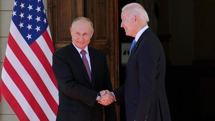 Presiden Putin dan Biden Bertemu di Jenewa