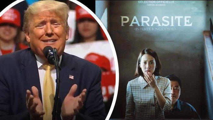 Donald Trump Tak Terima Parasite Jadi Film Terbaik Oscar: Kita Sudah Banyak Masalah dengan Korsel