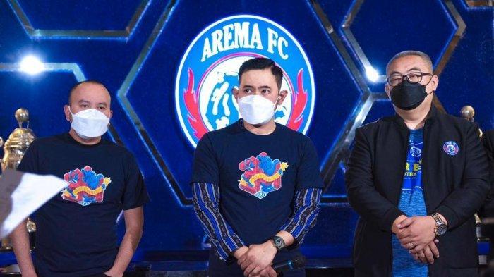 HUT ke-34, Arema FC Luncurkan Logo dan Slogan Baru