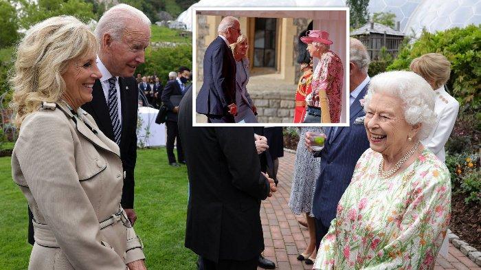 Joe Biden Langgar Protokol Kerajaan saat Bertemu Ratu: Datang Terlambat dan Pakai Kacamata Hitam