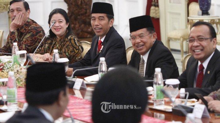 Beda Jokowi dan JK Soal Golkar
