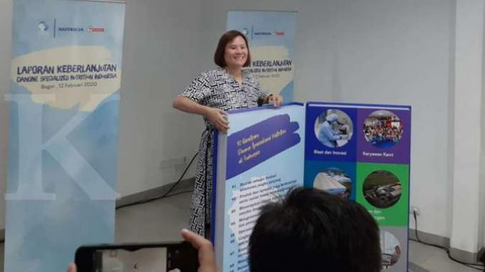 Danone SN Indonesia Luncurkan Laporan Keberlanjutan