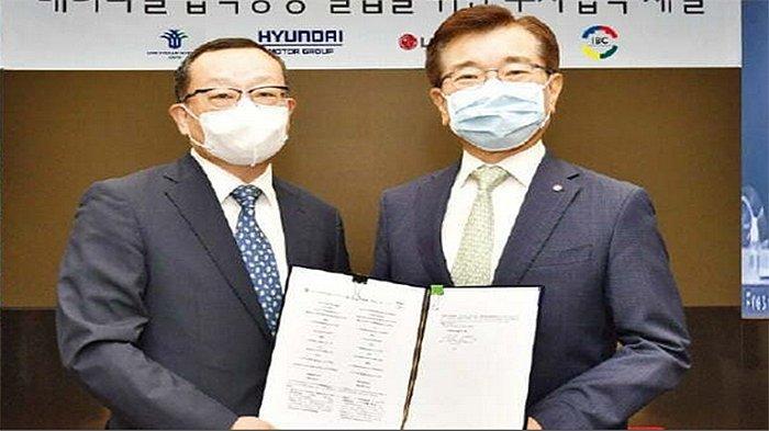 Hyundai LG Investasi di Indonesia 1,1 Miliar Dolar AS, Bangun Pabrik Sel Baterai Produksi 10 GWh