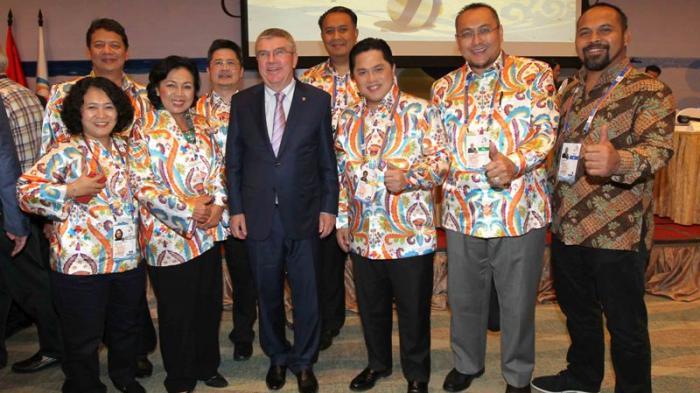 Presiden Komite Olimpiade Internasional Berharap Bisa Saksikan Asian Games 2018
