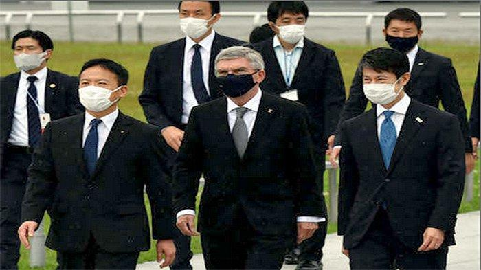 Kunjungan Presiden IOC Thomas Bach di Hiroshima Jepang Diharapkan untuk Mengirim Pesan Perdamaian