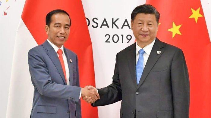 Presiden Joko Widodo dan Presiden Xi Jinping