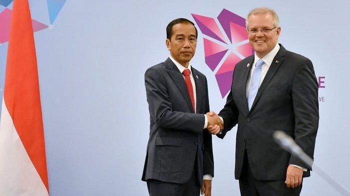 Di Sela Rangkaian ASEAN, Presiden Jokowi Gelar Pertemuan Bilateral dengan PM Australia