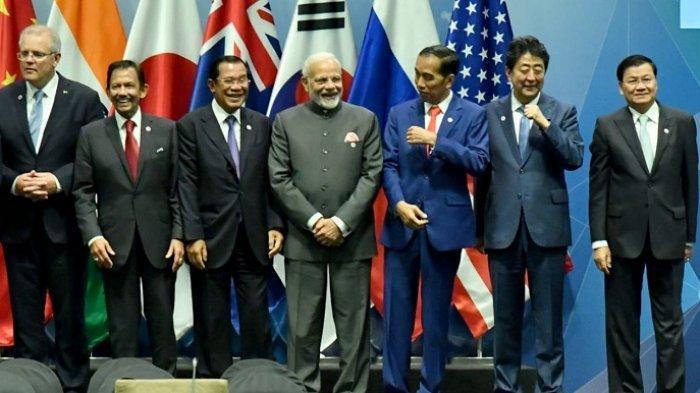 Di Singapura, Presiden Joko Widodo Presentasikan Konsep Indo-Pasifik di EAS