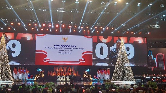 Pesan Jokowi dalam Perayaan Natal Nasional 2019: Jauhi Sikap Intoleransi