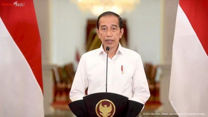 Presiden Joko Widodo (Jokowi) mengumumkan perpanjangan PPKM Level 4,3 dan 2 hingga 30 Agustus 2021.
