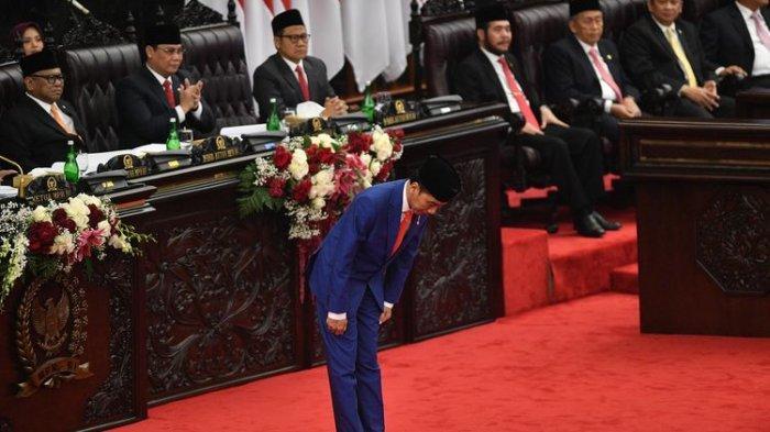 Dalam Sidang Tahunan, Presiden Puji Kinerja MPR