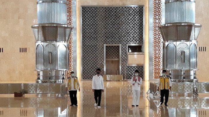 Presiden Jokowi Tinjau Kesiapan Prosedur New Normal Sarana Ibadah di Masjid Istiqlal