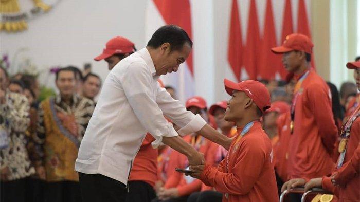 Hari Ini, Presiden Joko Widodo Berikan Bonus kepada Para Atlet Asian Para Games 2018