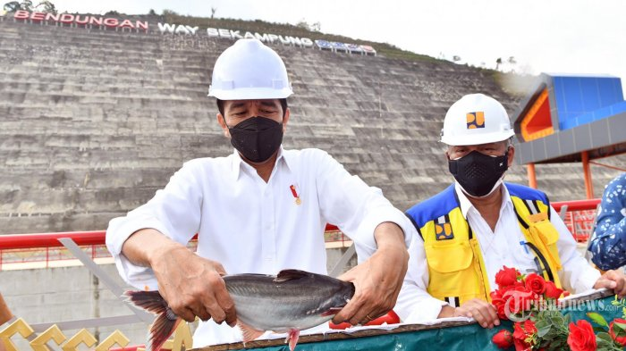 Pemerintah Akan Tuntaskan Pembangunan Bendungan Margatiga di Lampung Akhir 2021