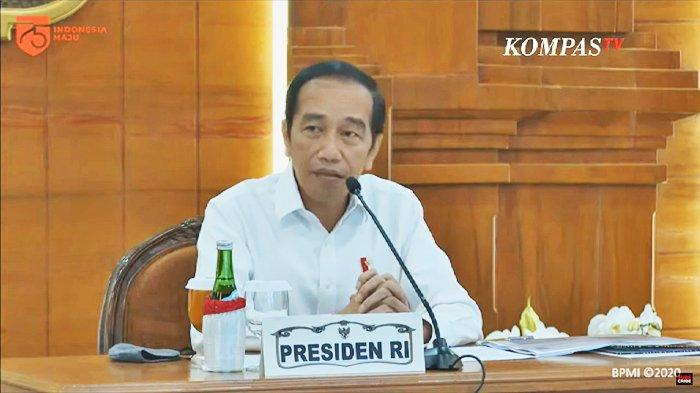 Presiden Joko Widodo saat kunjungan kerjanya di Jawa Timur