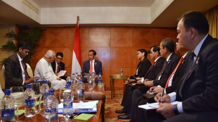 Jokowi Sampaikan Keinginan Kerjasama Kongkret Saat Bertemu Pemimpin Oposisi Parlemen Sri Lanka
