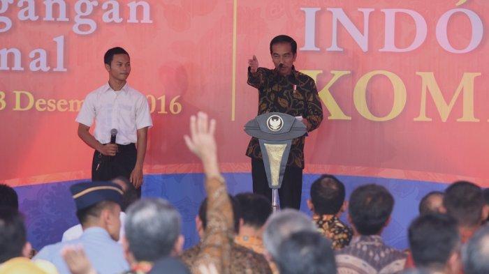 Presiden Jokowi Tepis Isu Jutaan Tenaga Kerja Tiongkok Masuk RI