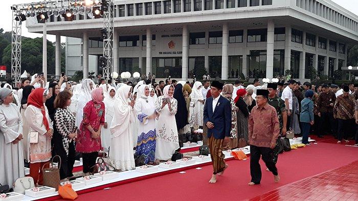Jokowi Hadiri Acara Buka Puasa Bersama Keluarga Besar TNI-Polri dan Masyarakat