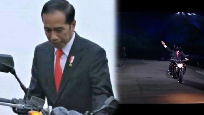 Fakta Baru dalam Aksi Jokowi Naik Moge, Stuntman Ungkap Sudah di Thailand saat Sesi Live di SUGBK