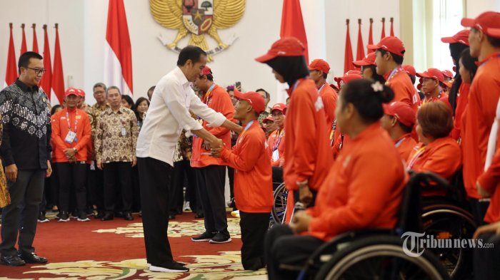 Beri Bonus ke Atlet, Presiden Jokowi: APBN yang Keluar Lebih Banyak, tapi Kita Syukuri Alhamdulillah