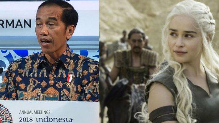 Sebut 'Game of Thrones' dalam Pidato IMF Bank Dunia, Jokowi Tuai Pujian di Mata Internasional