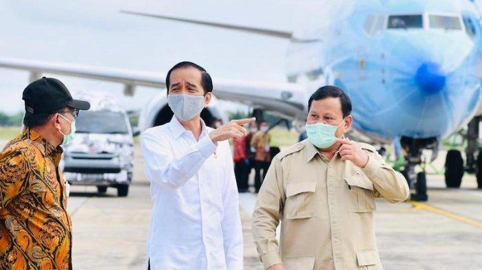 Presiden Jokowi dan Menhan Prabowo
