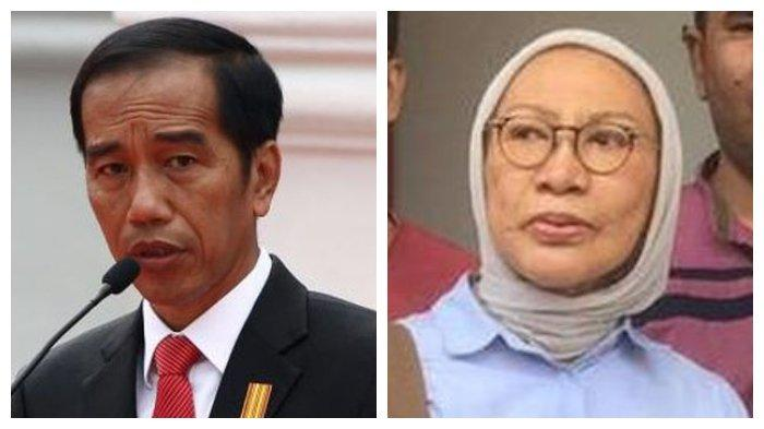 Presiden Jokowi dan Ratna Sarumpaet