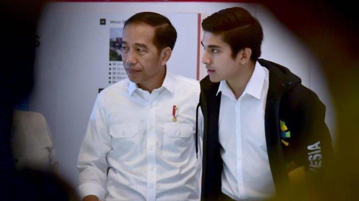 Presiden Jokowi dan Menpora Malaysia Syed Saddiq