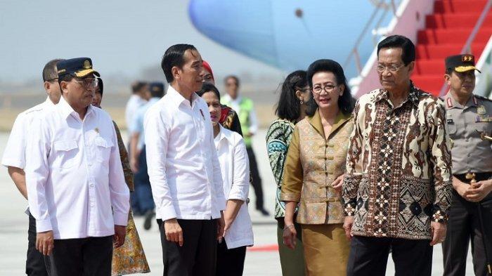 Presiden Jokowi di Bandara YIA, Kamis (29/8/2019)