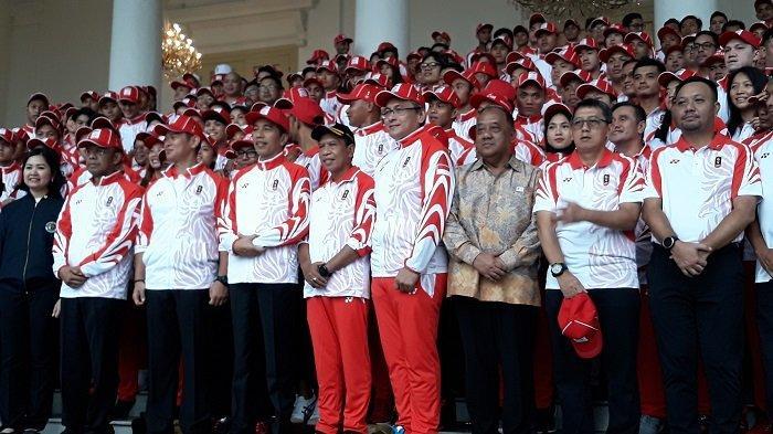 Jokowi Targetkan Indonesia Masuk Dua Besar Dalam Ajang SEA Games Filipina