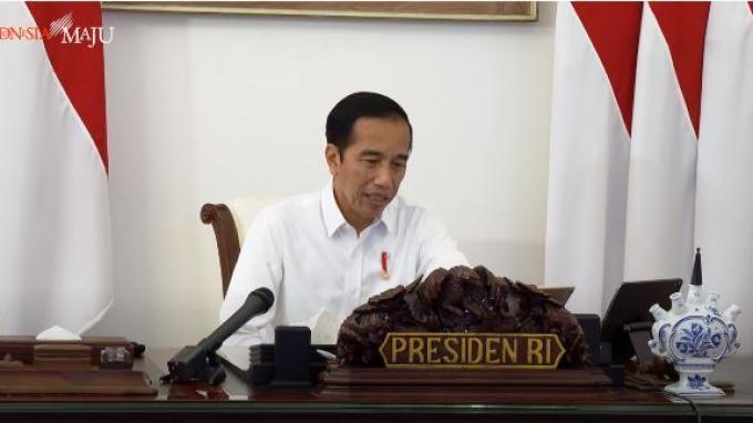 Ratas Percepatan Penanganan Pandemi Covid-19, Jokowi: Pemerintah Siapkan Skenario Pelonggaran PSBB