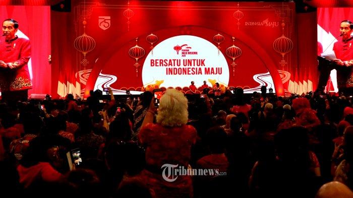 Ketika Jokowi Bertemu Ahok KW Dalam Acara Imlek Nasional 2020 di ICE BSD