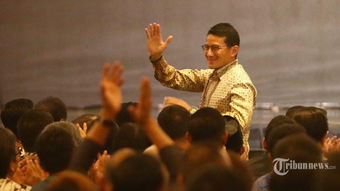 Jokowi Prediksi Sandiaga Jadi Presiden Tahun 2024, Sandi: Pak Presiden Orangnya Baik