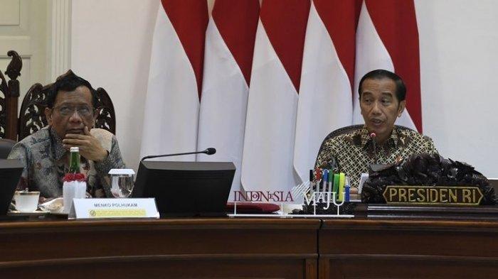 Pernyataan Jokowi Soal Polemik Pemakaian Cadar di Instansi, Kalau Ada Ketentuan Harus Patuhi
