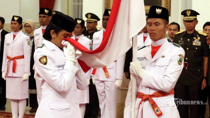 Live Streaming Upacara 17 Agustus 2019 HUT RI 74 Detik-detik Pengibaran Merah Putih di Istana Negara