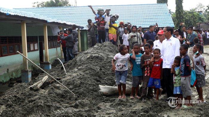 Perkembangan Penanganan Pascabencana Banjir Bandang Sentani
