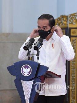 Jokowi Kembali Minta Para Gubernur Gencarkan Protokol Kesehatan: Disiplin Masyarakat Menurun