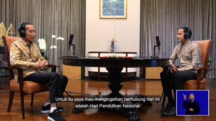 Jokowi Puji Terobosan Nadiem Makarim dalam Program Merdeka Belajar: Bagus Sekali