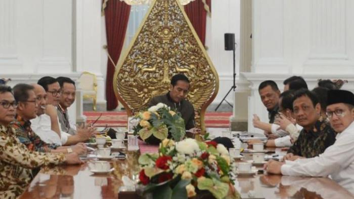 Sajian Makanan untuk Menteri Saat Rapat yang Dipimpin Jokowi, Apa Menunya?