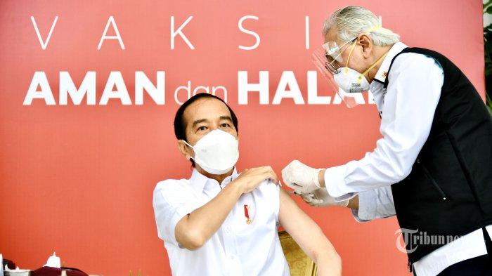 Beredar Info Vaksinasi Jokowi Gagal, Ini Jawaban IDI