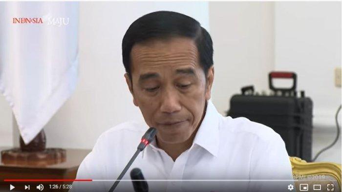 Jokowi Minta Visi Harus Jelas dan Konsisten saat Bahas Susunan RUU Omnibus Law Cipta Lapangan Kerja
