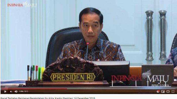 Jokowi Menegaskan Pindah Ibu Kota Berarti Pindah Cara Kerja, Budaya, dan Sistem Kerja