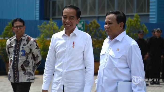 Menhan Prabowo Sampaikan Belasungkawa Atas Wafatnya Ibunda Presiden Jokowi