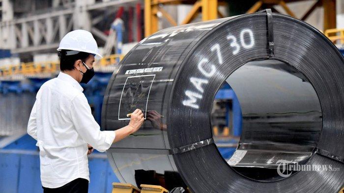 Diresmikan Jokowi, Teknologi di Pabrik Hot Strip Mill 2 Hanya Ada di AS dan Indonesia