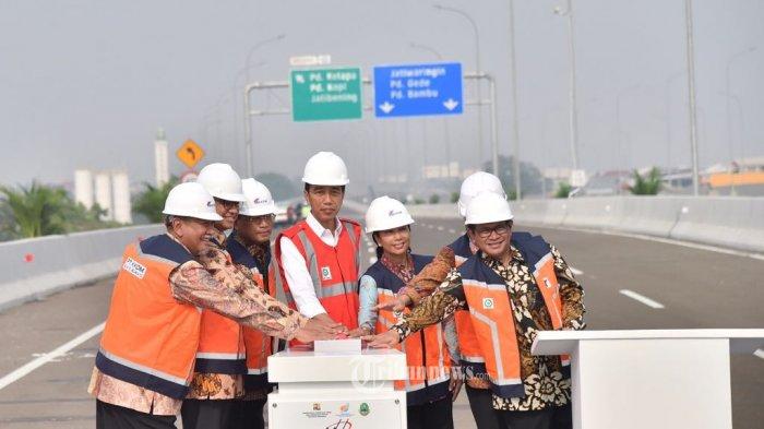 Jalan Tol Becakayu yang Baru Diresmikan Jokowi Akhirnya Benar-benar Dijual Waskita Karya